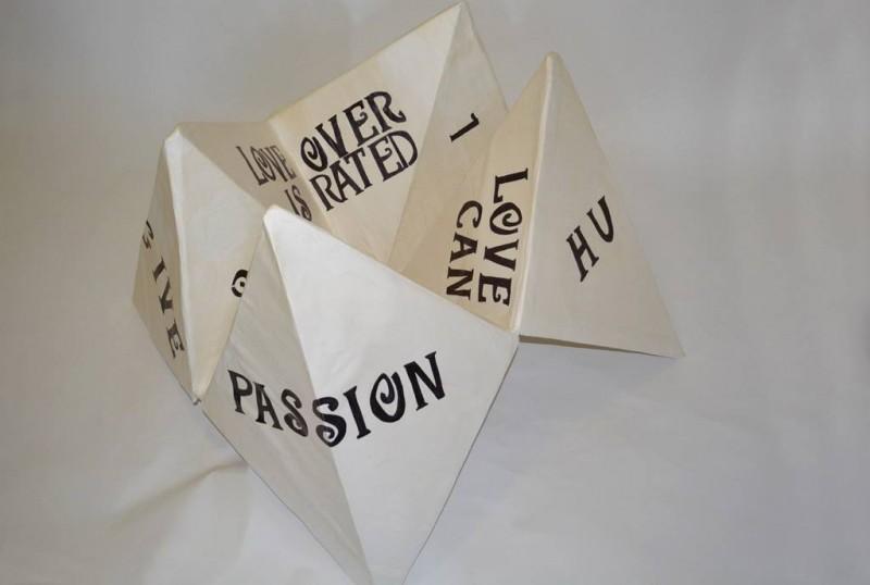 "Paper machê, Cardboard, & flour cement 29"" 49"" x 42""  2013-2014"