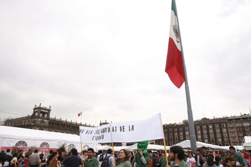 Protesta Zocalo