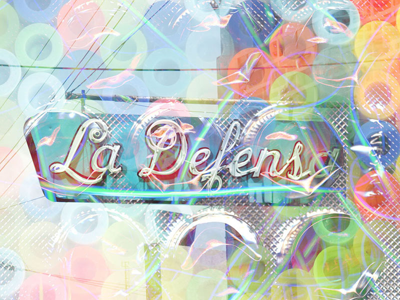 """Digital Print/ Plexiglas / 30""""x 22.5"""" / 2011 / 1/5 /"""